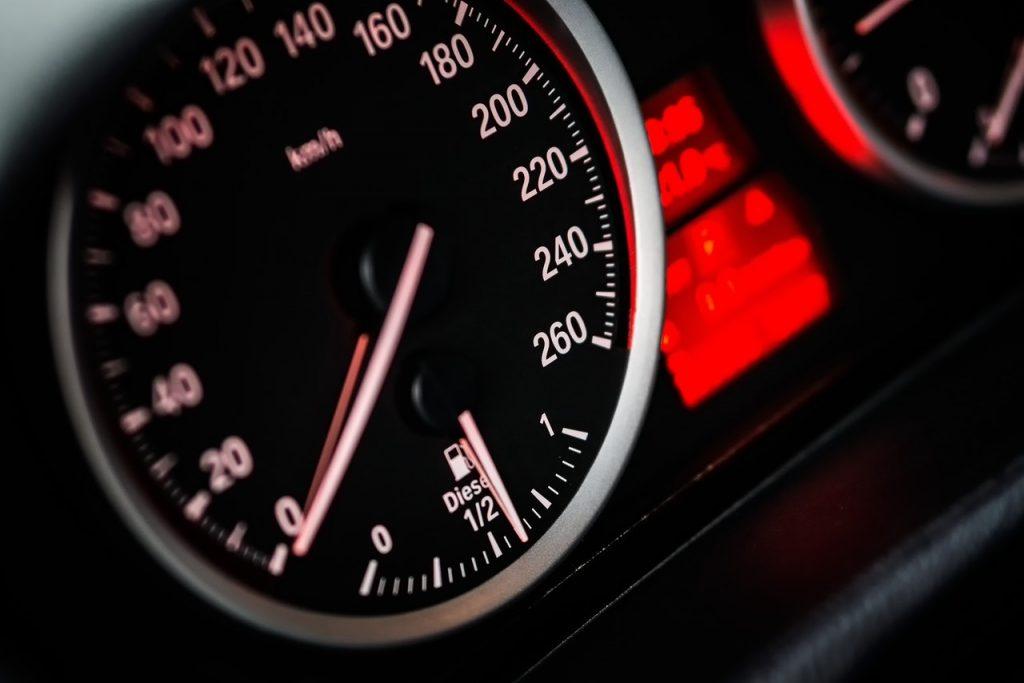 car speedo